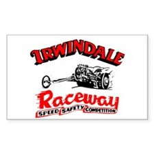Irwindale Raceway Rectangle Decal