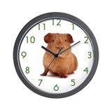 Cute Guinea pigs Wall Clock