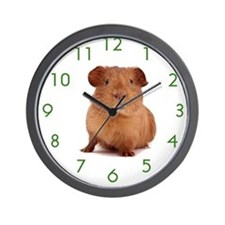 Cute Guinea pig Wall Clock