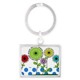 retired nurse pillow 2013 Landscape Keychain