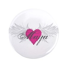 "Maya-angel-wings.png 3.5"" Button"