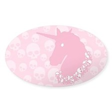 Pink Zombie Unicorn Decal
