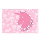 zombie-unicorn_pk_12x18.png Postcards (Package of