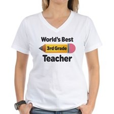 3rd Grade Teacher (Worlds Best) Shirt