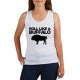 Roll Like A Buffalo Tank Top