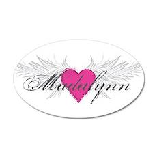 My Sweet Angel Madalynn 20x12 Oval Wall Decal