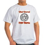 Count Dracula Ash Grey T-Shirt