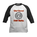 Count Dracula Kids Baseball Jersey