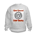 Count Dracula Kids Sweatshirt