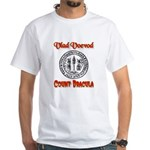 Count Dracula White T-Shirt