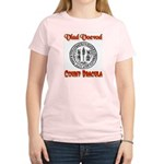 Count Dracula Women's Pink T-Shirt