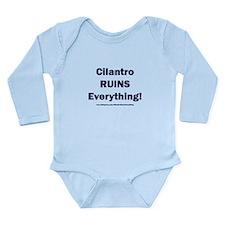 Cilantro Ruins Everyth Onesie Romper Suit