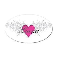 My Sweet Angel Liana 20x12 Oval Wall Decal