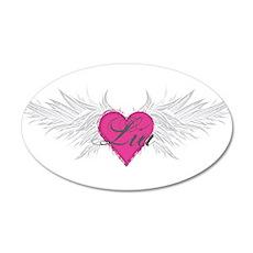My Sweet Angel Lia 35x21 Oval Wall Decal