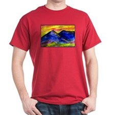 Landscape, colorful art! T-Shirt