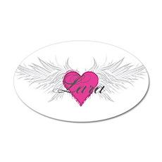 My Sweet Angel Lara 20x12 Oval Wall Decal