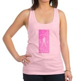 Hit it hard Racerback Tank Top