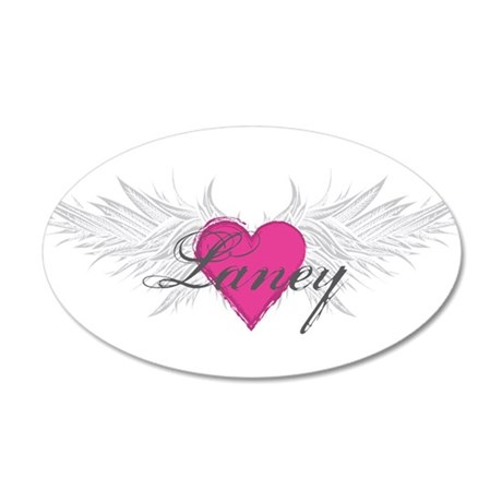 My Sweet Angel Laney 20x12 Oval Wall Decal