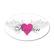 My Sweet Angel Kirsten 35x21 Oval Wall Decal