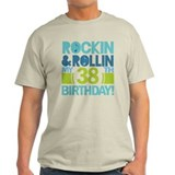 38th Birthday Rock and Roll T-Shirt