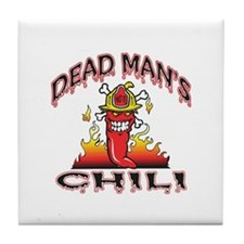 DeadMan's Chili Tile Coaster