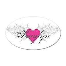 My Sweet Angel Kaylyn 35x21 Oval Wall Decal
