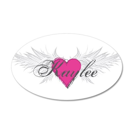 My Sweet Angel Kaylee 20x12 Oval Wall Decal