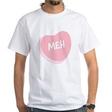 Meh Anti-Valentine's Day T-shirt