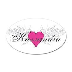 My Sweet Angel Kassandra 20x12 Oval Wall Decal