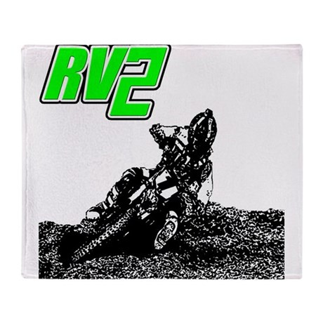 RV2bike Throw Blanket