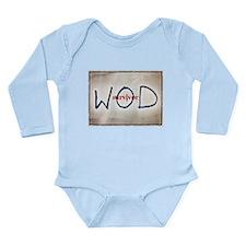 WOD Long Sleeve Infant Bodysuit