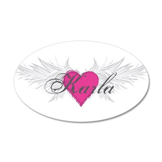 My Sweet Angel Karla 20x12 Oval Wall Decal
