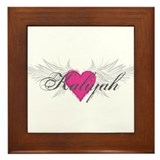 My Sweet Angel Kaliyah Framed Tile