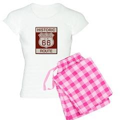 Newberry Springs Route 66 Women's Light Pajamas