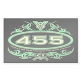 455 Engine Decal