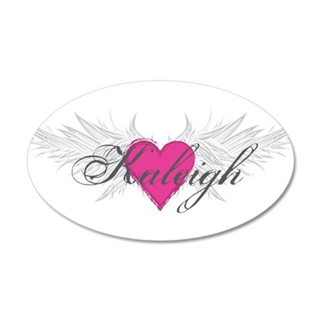 My Sweet Angel Kaleigh 20x12 Oval Wall Decal