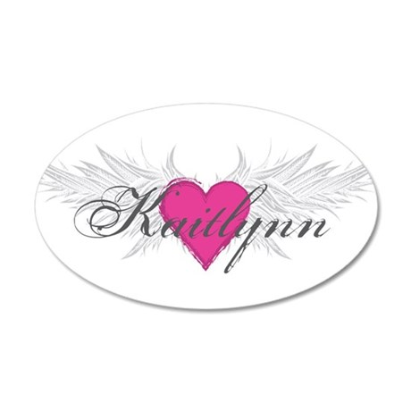 My Sweet Angel Kaitlynn 20x12 Oval Wall Decal