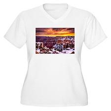 Grand Canyon Landscape at Sunrise T-Shirt