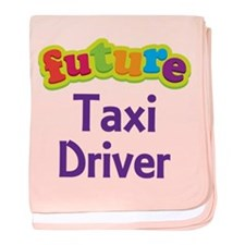 Future Taxi Driver baby blanket