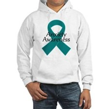 Anxiety Awareness Ribbon Hoodie