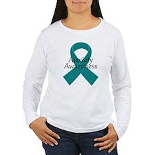 Anxiety Awareness Ribbon T-Shirt
