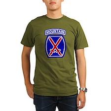 10th Mountain Division T-Shirt (Dark) T-Shirt