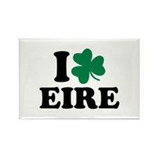 I love Eire Ireland Rectangle Magnet (10 pack)