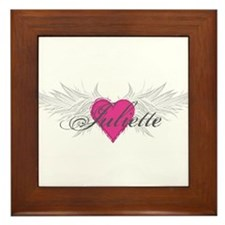 My Sweet Angel Juliette Framed Tile