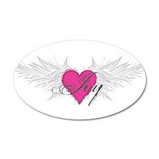 My Sweet Angel Joy 35x21 Oval Wall Decal