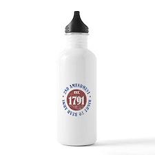 2nd Amendment Est. 1791 Water Bottle