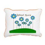 Retired Nurse Pillow 5 Rectangular Canvas Pillow