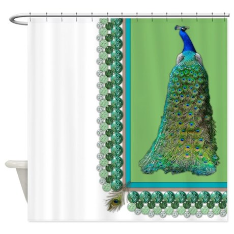 bohemian gifts bohemian bathroom d cor pop peacock shower curtain