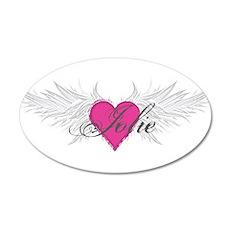 My Sweet Angel Jolie 20x12 Oval Wall Decal