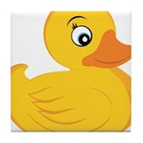 Rubber Ducky Tile Coaster